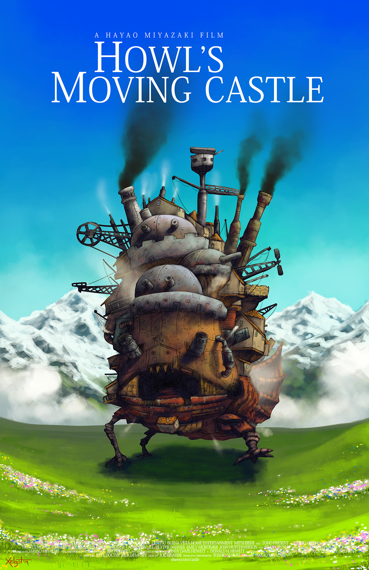 Showtime for Howl\'s Moving Castle playing Jun 17th, 2018 at 2:50 PM ...